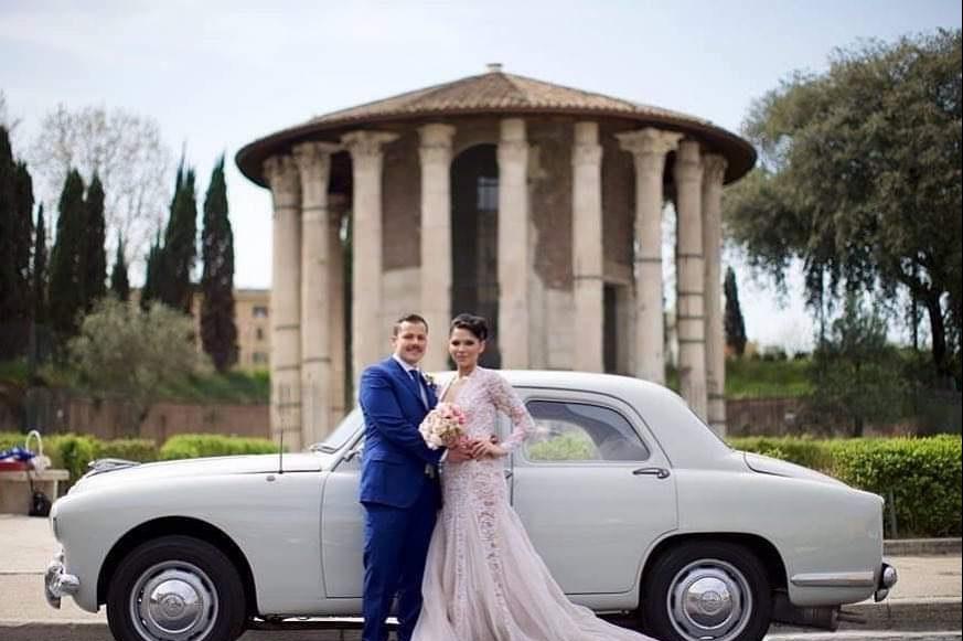Alfa Romeo 1900 del 1952 - noleggio auto d'epoca Roma - noleggio auto storiche - noleggio auto storiche matrimoni - noleggio auto matrimonio prezzi - Noleggio Auto matrimoni - nozze auto - auto matrimonio Roma