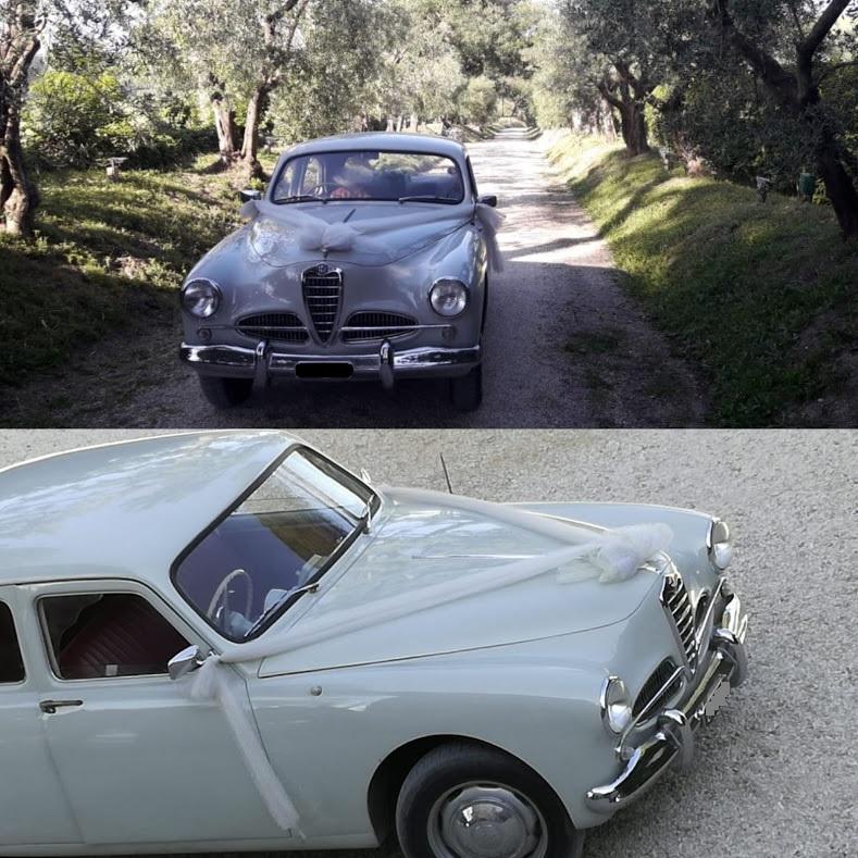 Noleggio auto d'epoca matrimoni Roma - Alfa Romeo 1900 del 1952 - noleggio auto storiche - noleggio auto matrimoni