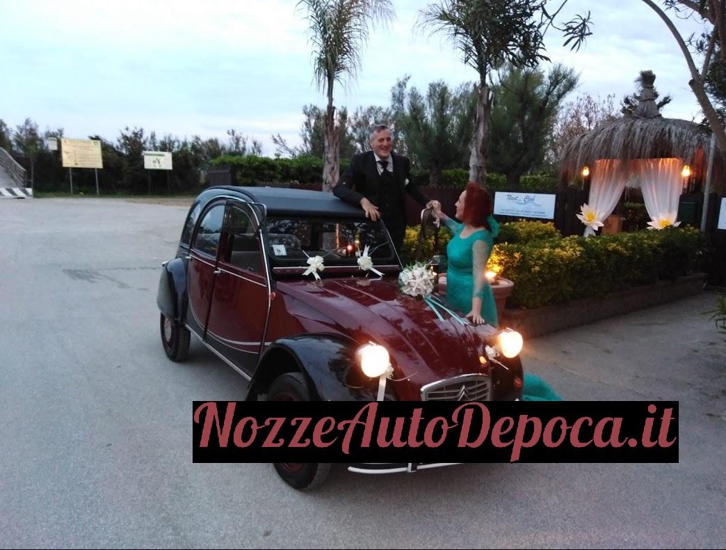 Citroen due cavalli - Nozze auto d'epoca - noleggio auto matrimoni roma lazio - auto d'epoca matrimoni - noleggio auto storiche roma