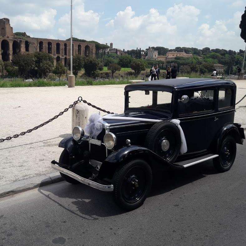 Fiat Balilla del 1932 auto matrimoni roma - noleggio auto d'epoca - noleggio auto matrimoni - noleggio auto storiche