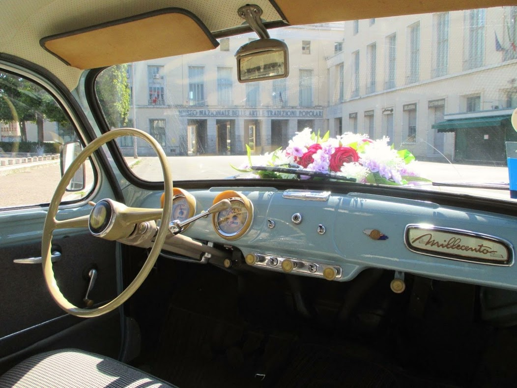 Noleggio auto d'epoca Fiat 1100 bauletto anni 50  per matrimoni a Roma e tutta la provincia - noleggio auto matrimoni roma - noleggio auto matrimonio - noleggio auto d'epoca  - auto matrimoni roma
