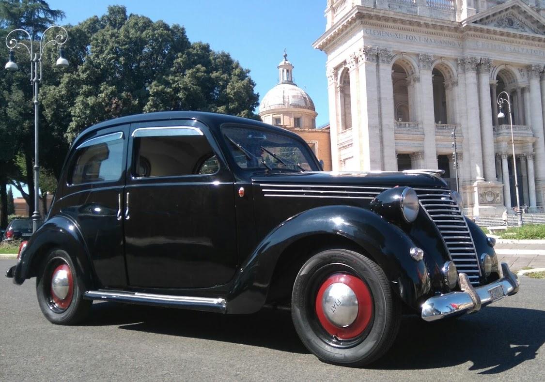 Fiat 1100 B del 48 - noleggio auto roma - noleggio auto d'epoca - noleggio auto matrimoni roma - noleggio auto storiche - Noleggio Auto matrimoni - nozze auto - auto matrimonio Roma
