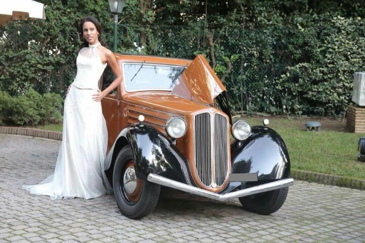 Noleggio auto d'epoca Lancia Augusta Farina per matrimoni a Roma e tutta la provincia - noleggio auto matrimoni roma - noleggio auto matrimonio - notte auto d'epoca