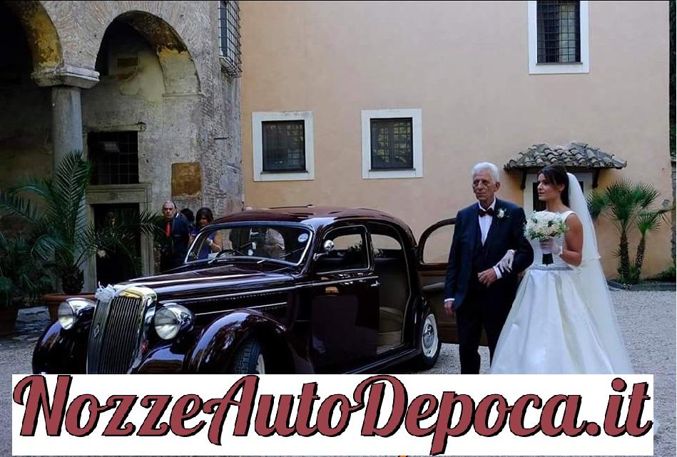 Noleggio auto d'epoca Lancia aprilia fuoriserie pininfarina anni 30 per matrimoni a Roma e tutta la provincia - noleggio auto matrimoni roma - noleggio auto matrimonio - notte auto d'epoca