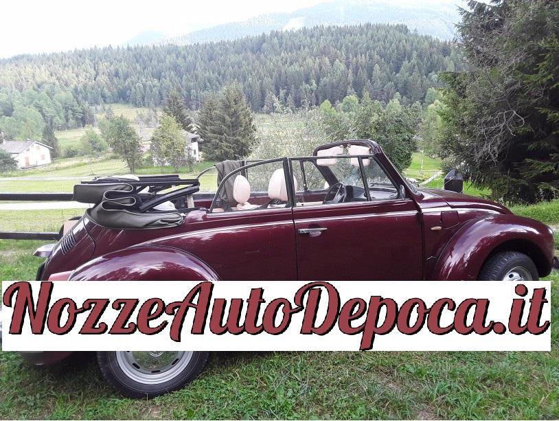 Maggiolone Cabrio - noleggio auto d'epoca Roma matrimoni - noleggio auto storiche - auto matrimoni Roma