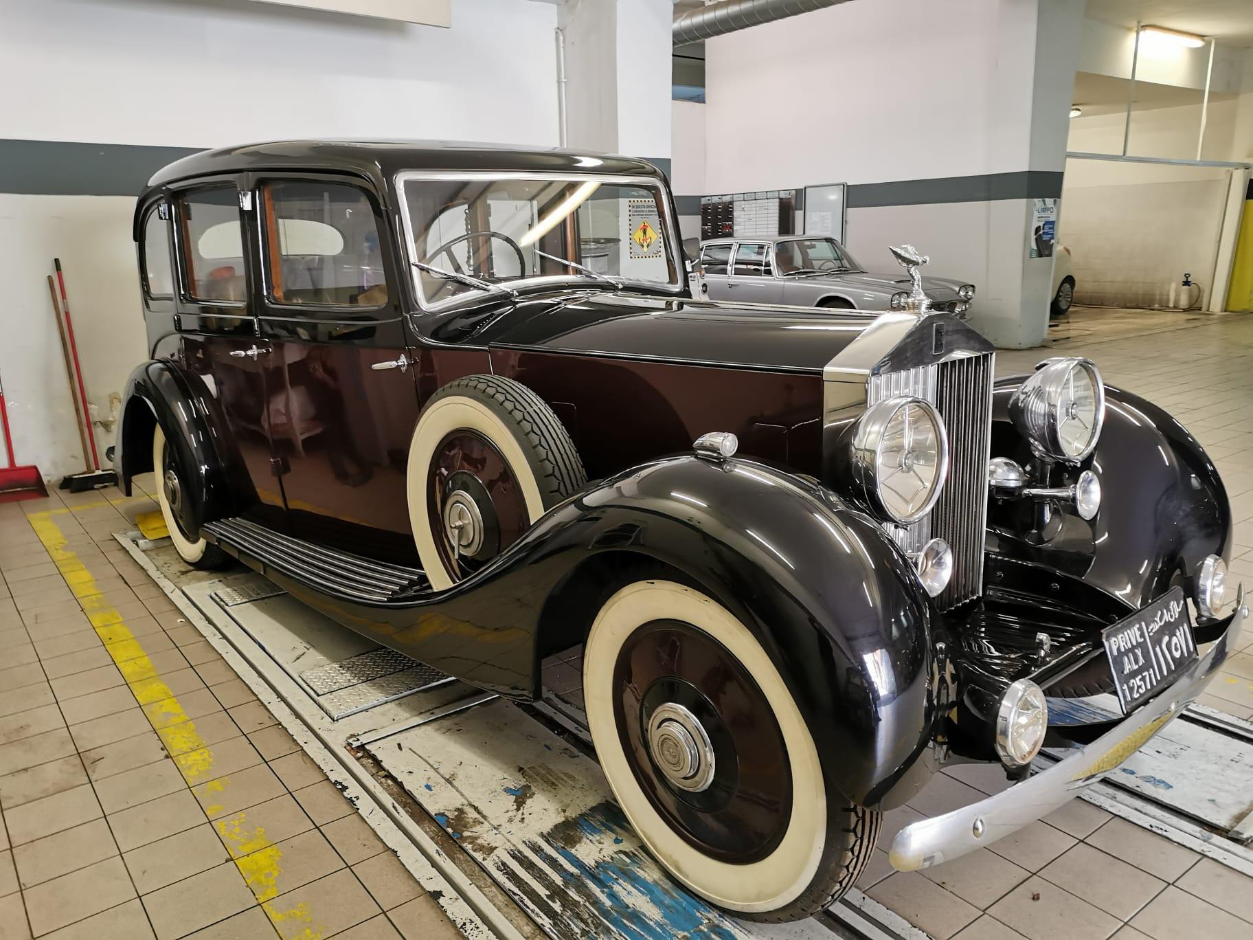 Rolls Royce Phantom del 1935 - matrimoni roma - noleggio auto matrimoni - auto d'epoca per eventi e matrimoni - nozze auto d'epoca - noleggio auto per matrimoni - Noleggio Auto matrimoni - nozze auto - auto matrimonio Roma