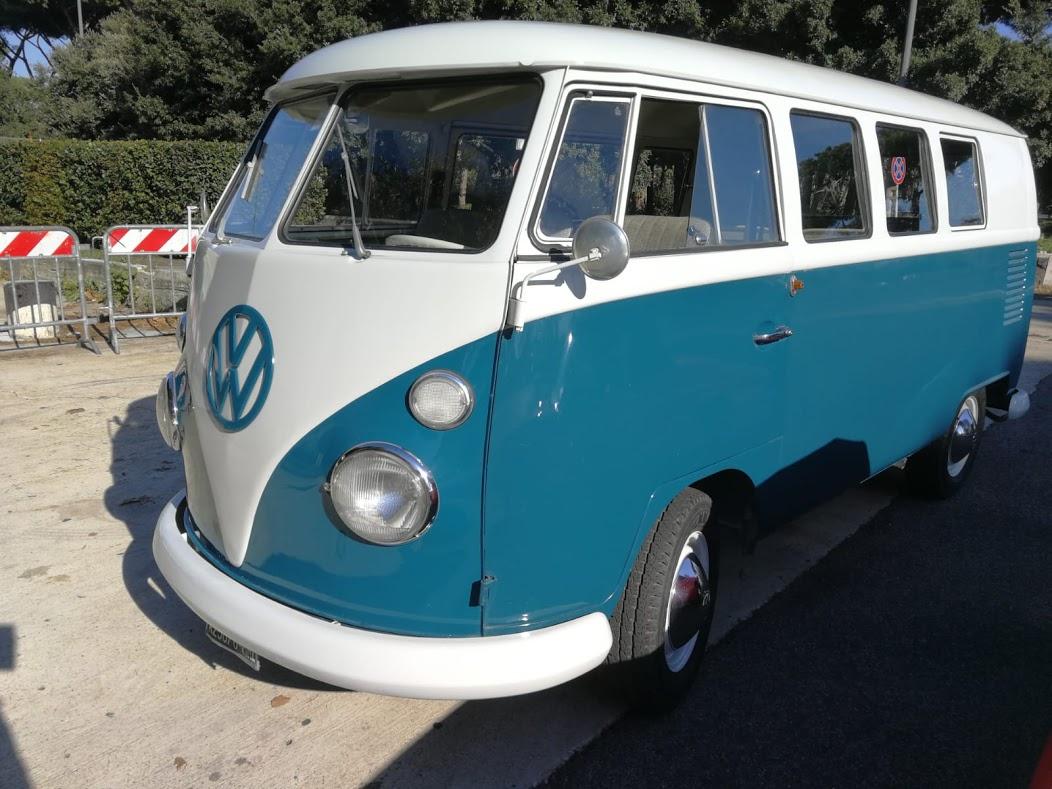 Noleggio auto d'epoca Pulmino Volkswagen t1 anni 60  per matrimoni a Roma e tutta la provincia - noleggio auto matrimoni roma - noleggio auto matrimonio - noleggio auto d'epoca  - auto matrimoni roma