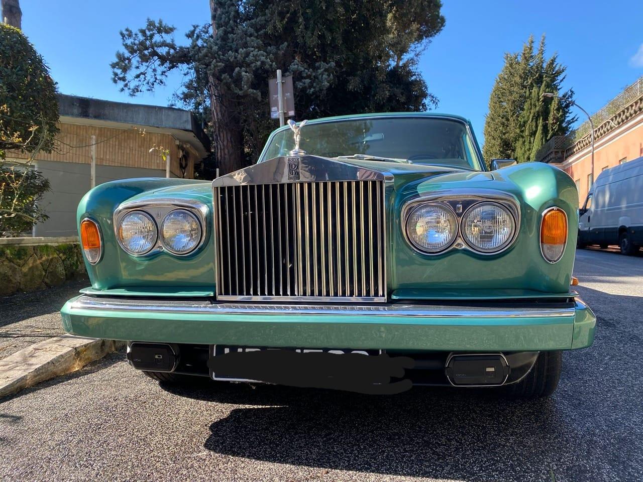 Rolls Royce Silver Shadow - Noleggio auto d'epoca - auto per matrimoni - noleggio auto matrimoni - Noleggio Auto matrimoni - nozze auto - auto matrimonio Roma