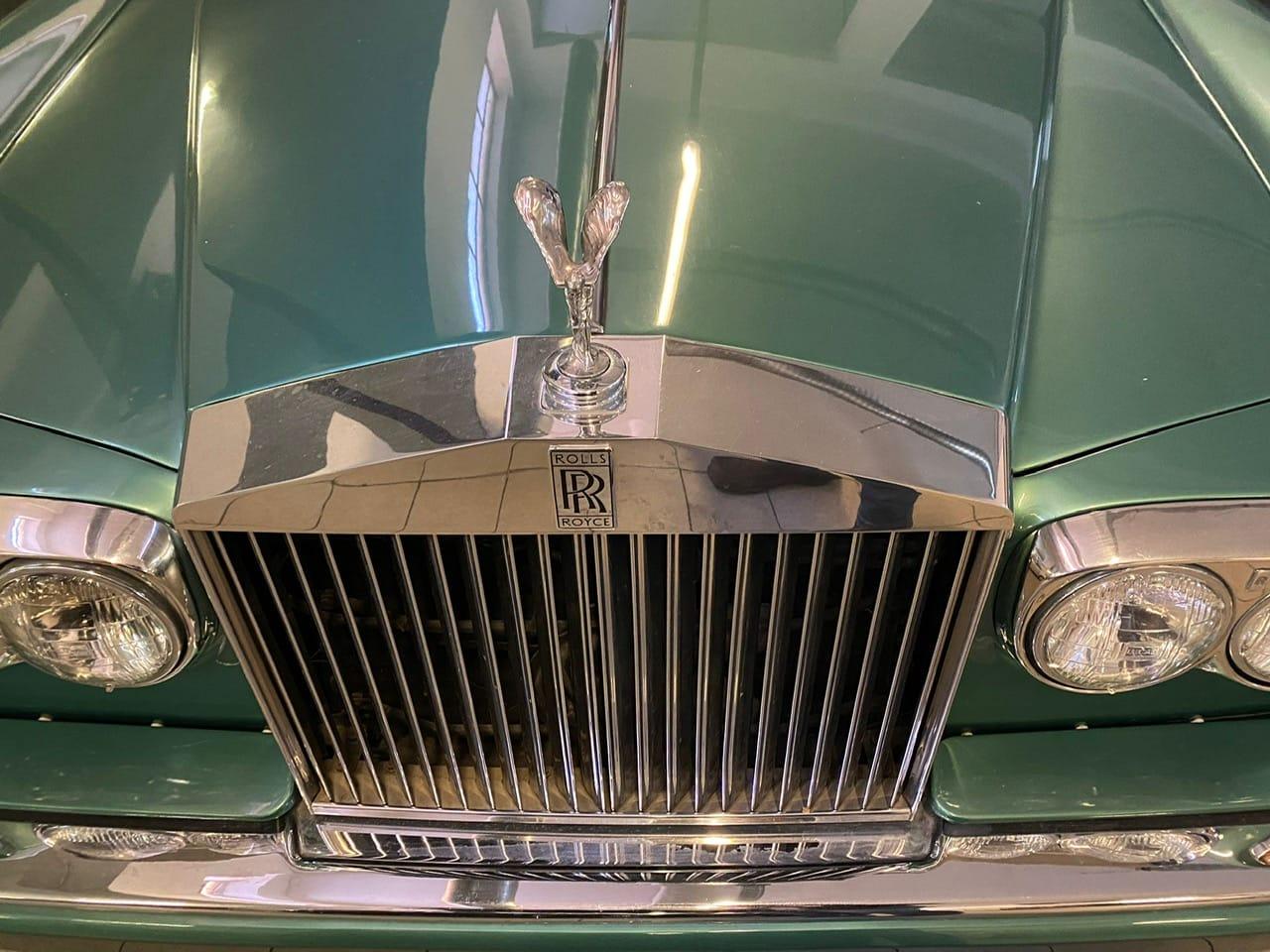 noleggio auto d'epoca matrimoni Roll Royce Silver Shadow