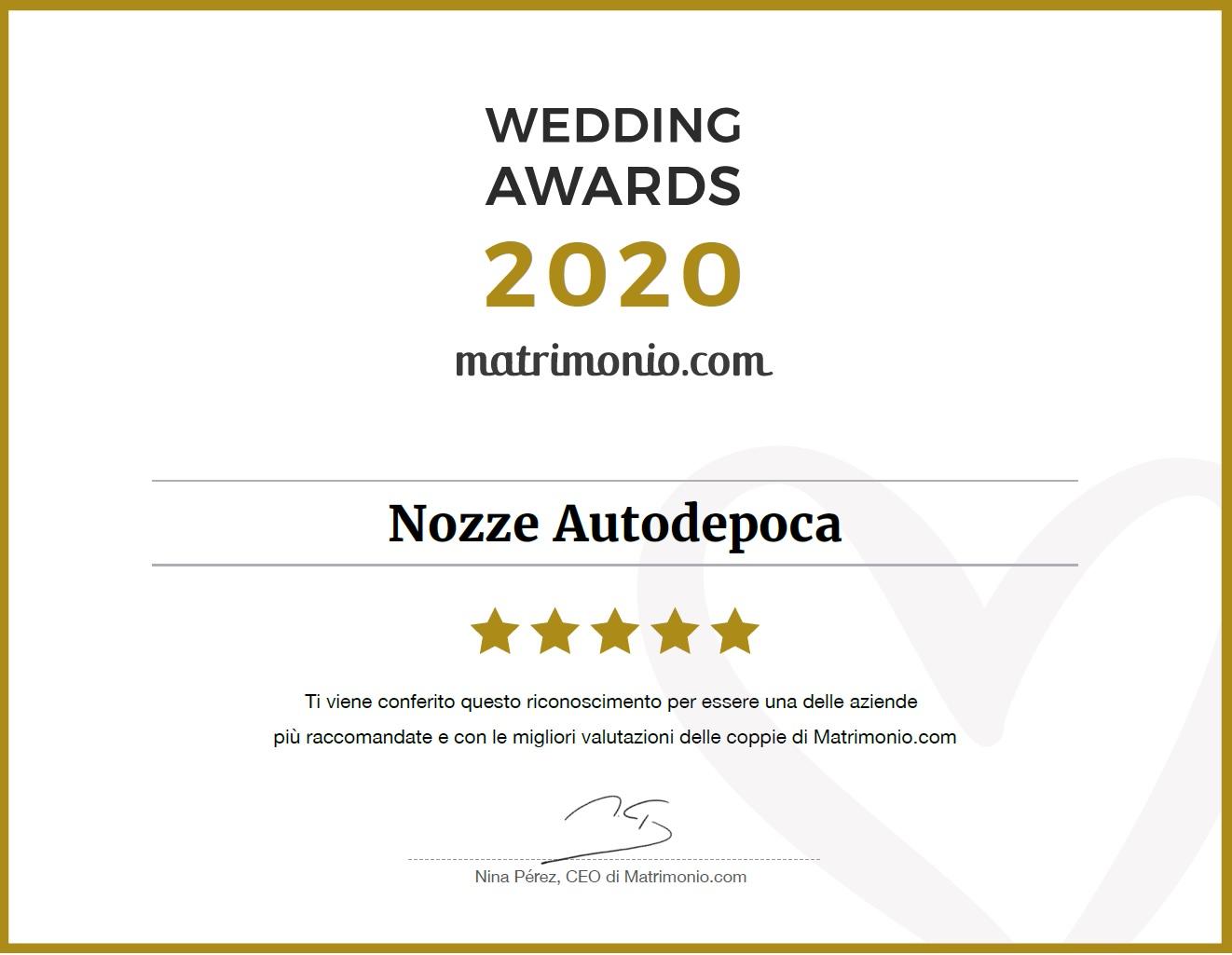 Premi -  - Noleggio Auto matrimoni - nozze auto - auto matrimonio Roma
