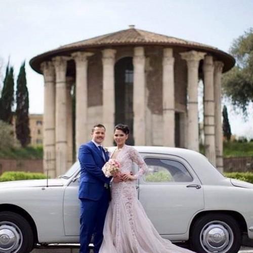 Noleggio auto matrimoni - Alfa Romeo 1900 del 1952 - Auto d'epoca Matrimoni Roma