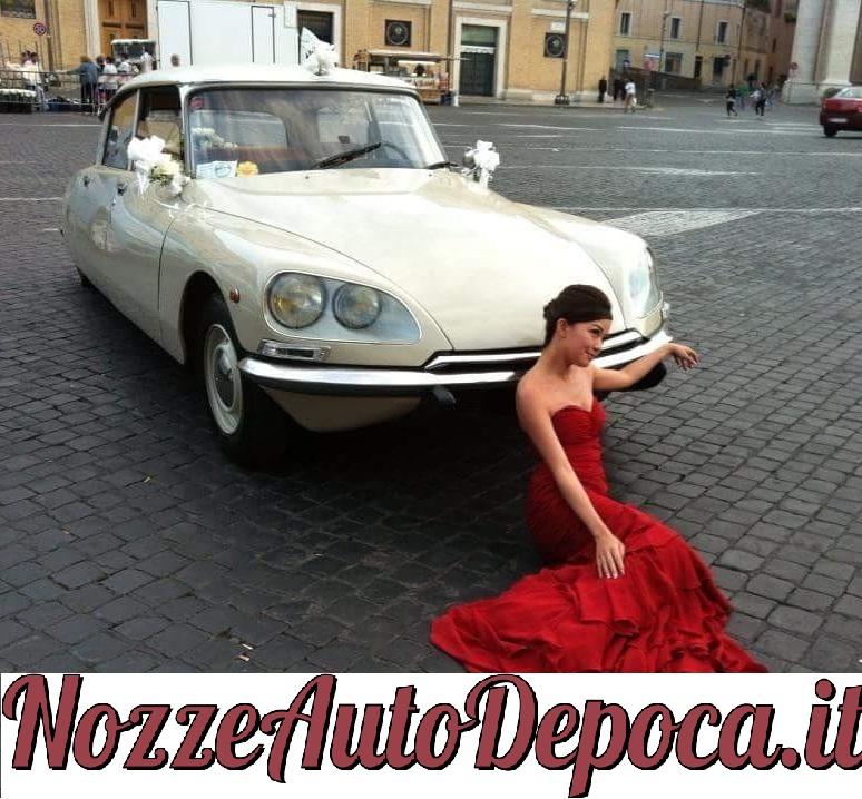 Noleggio auto matrimoni - Citroen DS - noleggio auto storiche