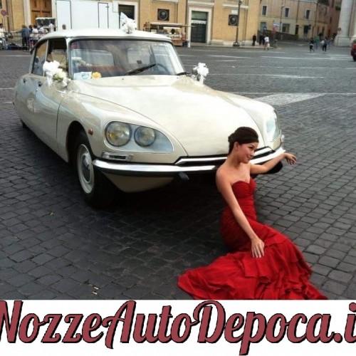 Noleggio auto matrimoni - Citroen DS - Auto d'epoca Matrimoni Roma