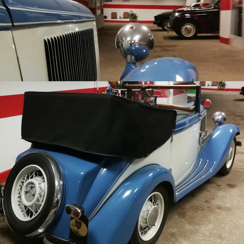 Noleggio auto matrimoni - Fiat Balilla Cabriolet Garavini anni 30 - noleggio auto storiche