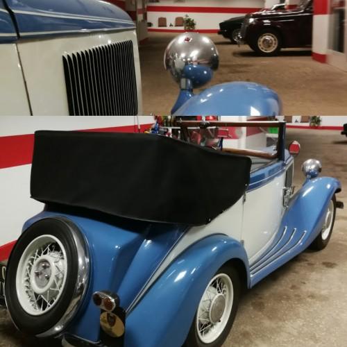 Noleggio auto matrimoni - Fiat Balilla Cabriolet Garavini anni 30 - Auto d'epoca Matrimoni Roma
