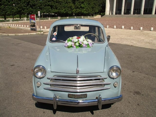 Noleggio auto matrimoni - Fiat 1100 Bauletto anni 50 - noleggio auto storiche