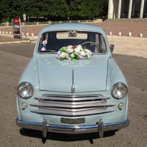 Noleggio auto matrimoni - Fiat 1100 Bauletto anni 50 - Auto d'epoca Matrimoni Roma
