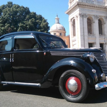 Noleggio auto matrimoni - Fiat 1100 B del 48 - noleggio auto storiche