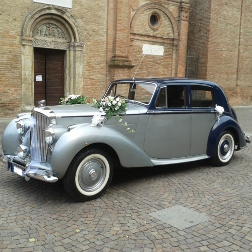 Noleggio auto matrimoni - Luxury Top Car Bentley MK6 - Auto d'epoca Matrimoni Roma