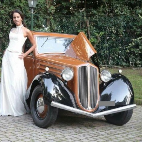 Noleggio auto matrimoni - Lancia Augusta Farina anni 30 - Auto d'epoca Matrimoni Roma