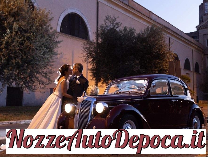 Noleggio auto matrimoni - Lancia Aprilia Fuoriserie Pininfarina anni 30 - noleggio auto storiche