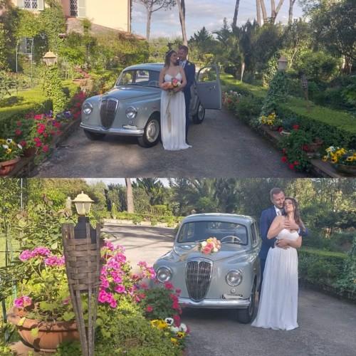 Noleggio auto matrimoni - Lancia appia Prima Serie - Auto d'epoca Matrimoni Roma