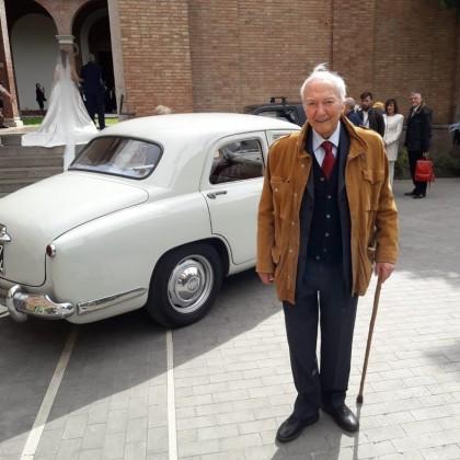Noleggio auto matrimoni - Piero Angela - noleggio auto storiche