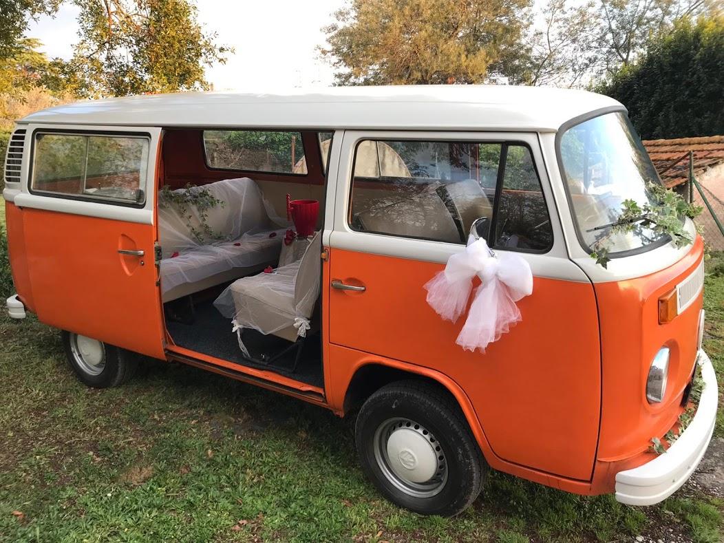 Noleggio auto matrimoni - Pulmino T2 Vintage  - noleggio auto storiche
