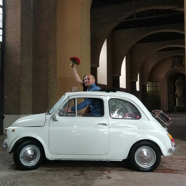 Noleggio auto matrimoni - Fiat 500 - noleggio auto storiche