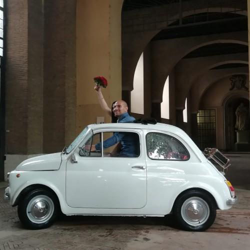 Noleggio auto matrimoni - Fiat 500 - Auto d'epoca Matrimoni Roma