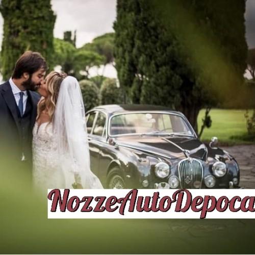 Noleggio auto matrimoni - Jaguar MK2 - Auto d'epoca Matrimoni Roma