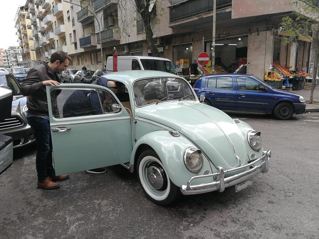 Noleggio auto matrimoni - Maggiolino anni 60 - noleggio auto storiche