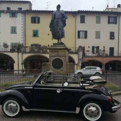 Noleggio auto matrimoni - Maggiolone Cabrio Nero - Auto d'epoca Matrimoni Roma