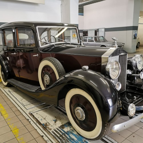 Noleggio auto matrimoni - Rolls Royce Phantom del 1935 - Auto d'epoca Matrimoni Roma