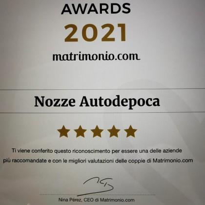 Noleggio auto matrimoni - Wedding award 2021 matrimonio.com - noleggio auto storiche