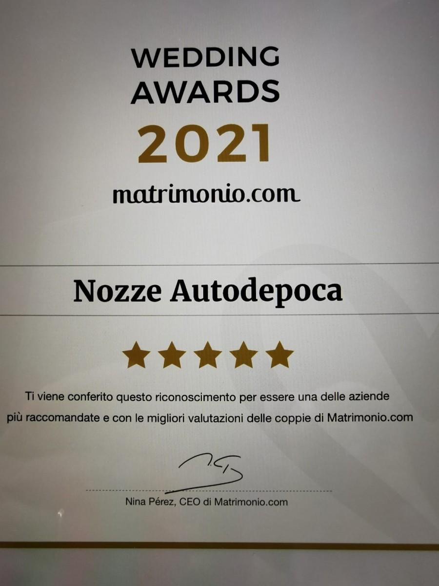 Wedding award 2021 matrimonio.com