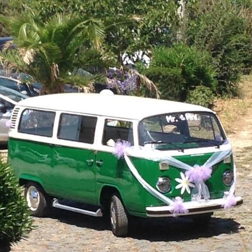 Noleggio auto matrimoni - Pulmino T2 Vintage - Auto d'epoca Matrimoni Roma