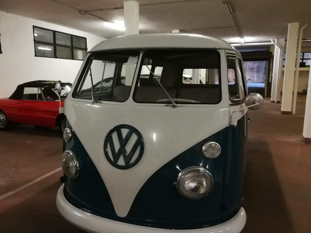 Noleggio auto matrimoni - Pulmino Volkswagen T1 anni 60 - noleggio auto storiche