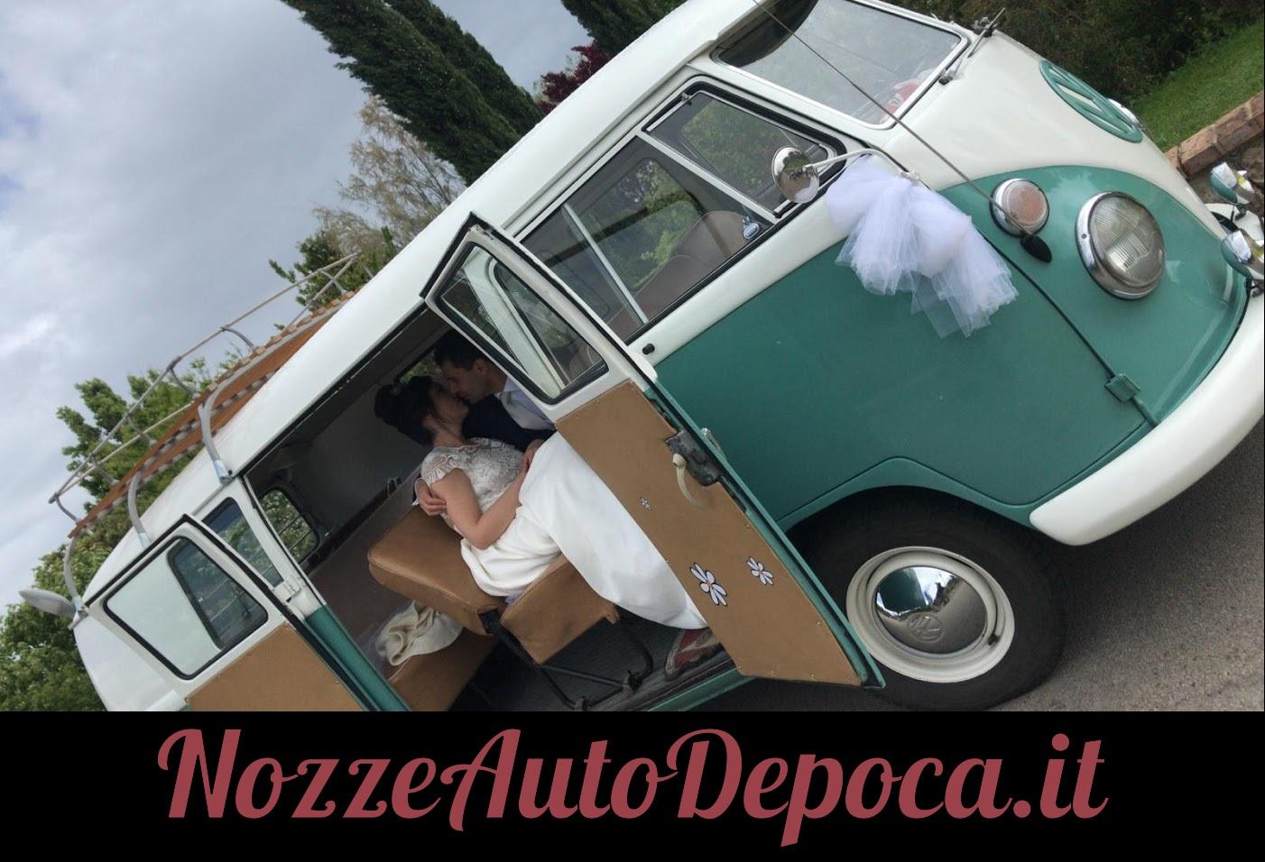 Noleggio auto matrimoni - Pulmino T1 anni 60 - noleggio auto storiche