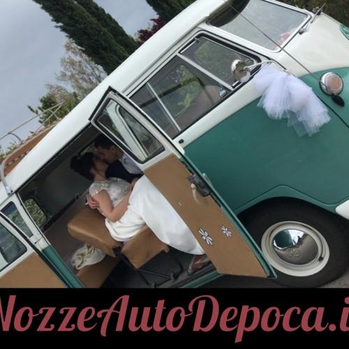 Noleggio auto matrimoni - Pulmino T1 anni 60 - Auto d'epoca Matrimoni Roma