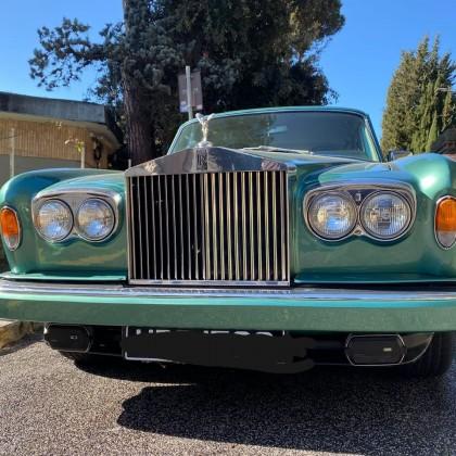 Noleggio auto matrimoni - Rolls Royce Silver Shadow - noleggio auto storiche