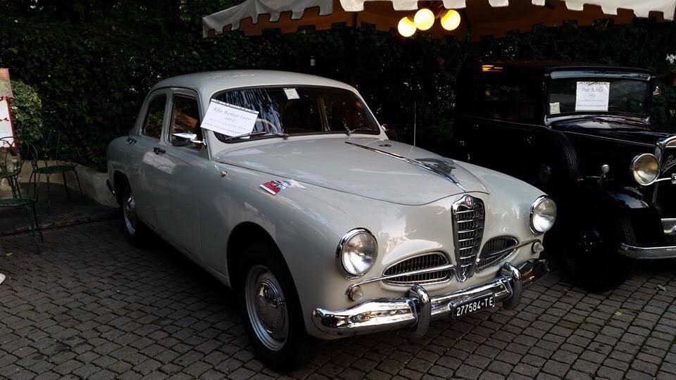 noleggio auto per matrimoni ALFA ROMEO 1900 A ROMA E NEL CENTRO ITALIA