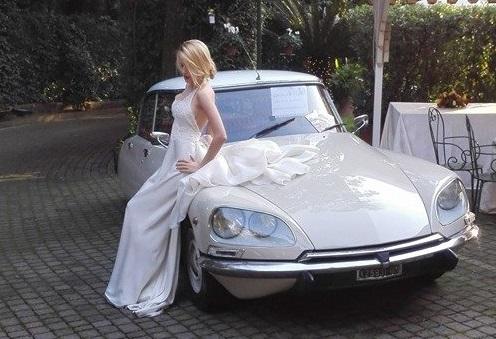 noleggio auto per matrimoni Citroen DS A ROMA E PROV