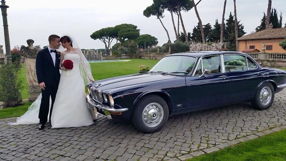 noleggio auto per matrimoni JAGUAR XJ ARIA COND A ROMA E LAZIO