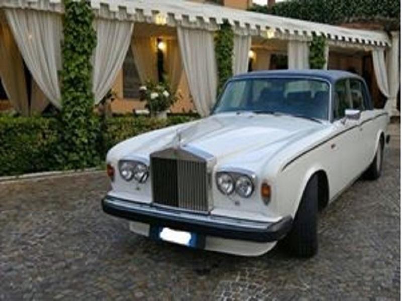 noleggio auto per matrimoni ROLLS ROYCE SILVER SHADOW ROMA E PROV