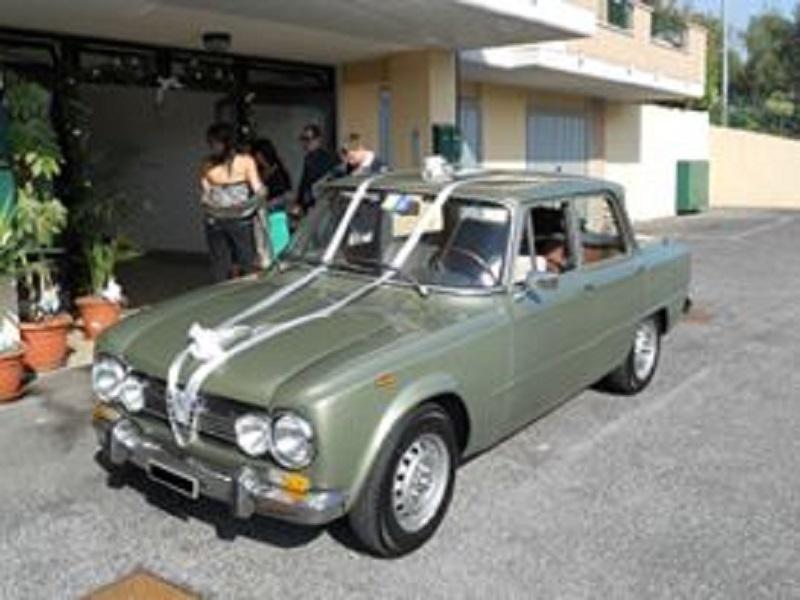 noleggio auto per matrimoni ALFA ROMEO GIULIA SUPER A ROMA E PROV
