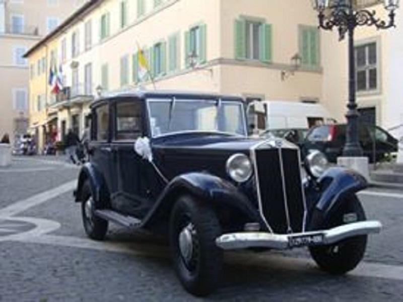 noleggio auto per matrimoni LANCIA AUGUSTA  ROMA E PROV