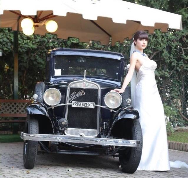 noleggio auto per matrimoni FIAT BALILLA ANNI 30 A ROMA E CENTRO ITALIA