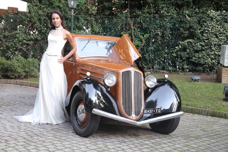 noleggio auto per matrimoni Lancia Augusta FARINA A ROMA E PROV