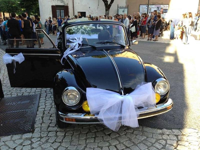 noleggio auto per matrimoni Maggiolone Cabriolet A ROMA E LAZIO